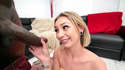 she needs something bigger than her little dildo